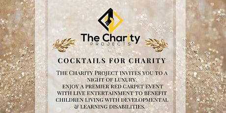 The Charity Projects Cocktails for Charity tickets