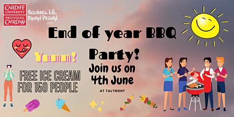 Talybont End of Year BBQ tickets