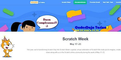 #ScratchWeek2021 - Programmiamo la creatività - Divertiamoci con Scratch biglietti