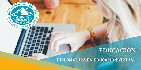 Diplomatura en Educación Virtual - Cuota 1 boletos