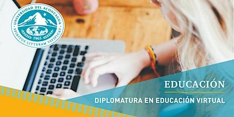 Diplomatura en Educación Virtual - Cuota 1 entradas