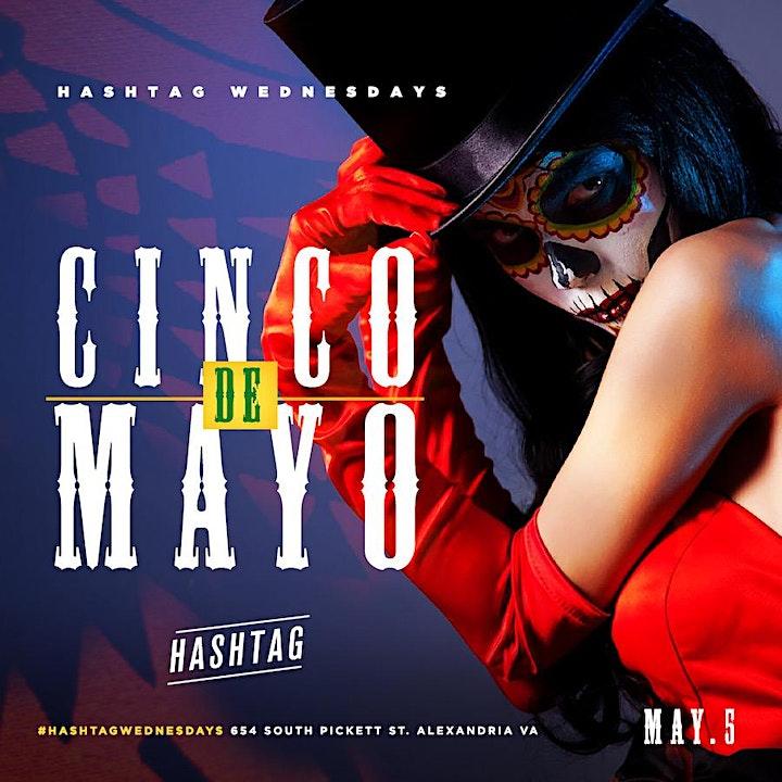 Cinco De Mayo at HASHTAG WEDNESDAYS image