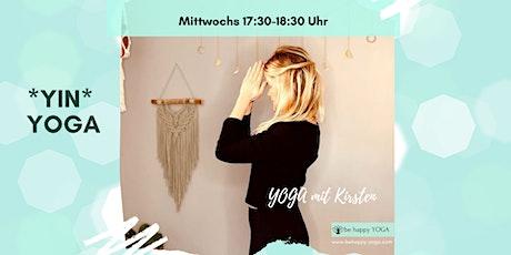 online Yin Yoga Stunde Tickets