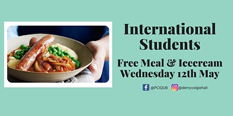 International Meal Distribution Wednesday 12th May tickets