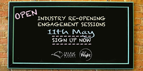 Tourism & Hospitality Industry Re-opening Engagement Sessions - s/a 1 tickets