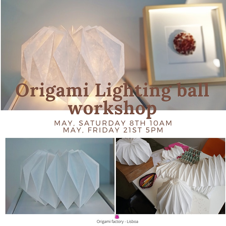 Image pour Origami Lighting ball workshop