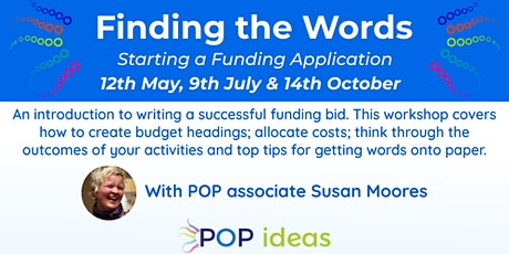"""Finding the Words"" - Starting a Funding Application tickets"