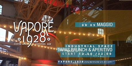 VAPORE 1928 | Brunch & Aperitivo in the Industrial Space biglietti