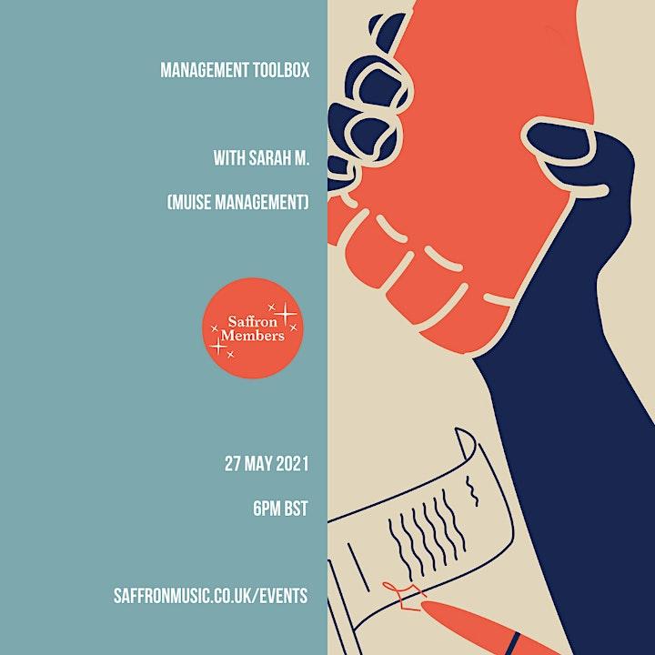 Management Toolbox w/ Sarah M (Muise Management) image