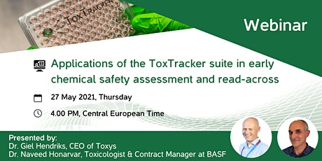 ToxTracker suite webinar tickets
