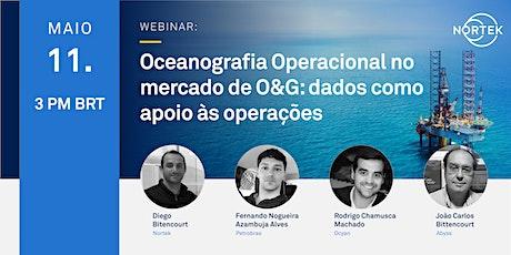 Oceanografia Operacional no mercado de O&G: dados como apoio às operações ingressos