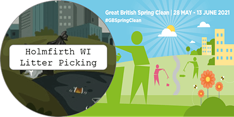Holmfirth WI: Keep Britain Tidy Litter Pick tickets