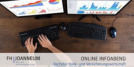 Online Infoabend Bachelorstudium Bank- und Versicherungswirtschaft tickets