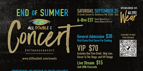 "All Double E ""END OF SUMMER"" Concert tickets"