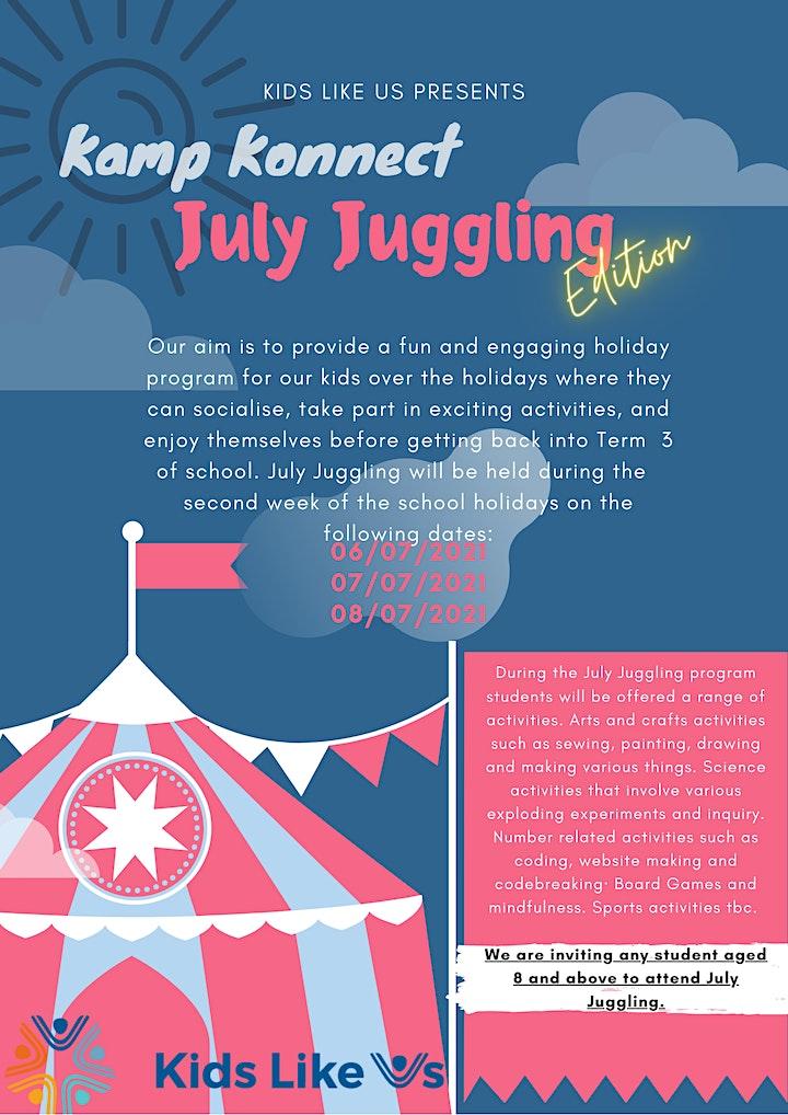 July Juggling image