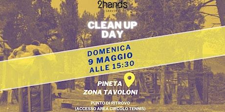 #1 Cleanup Pineta Zona Tavoloni biglietti