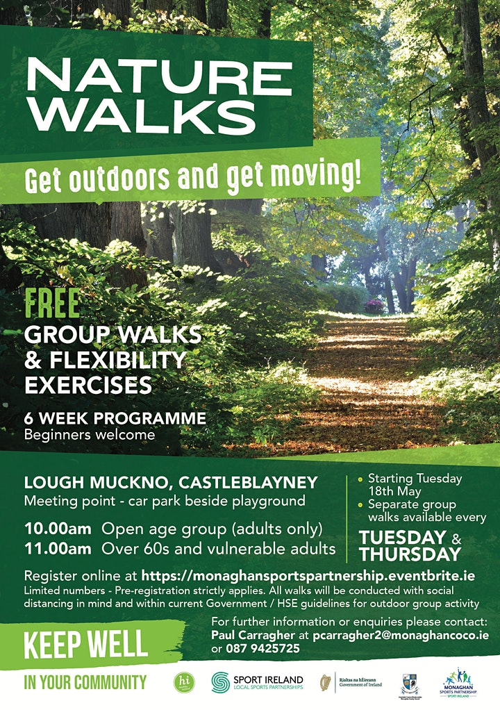 Nature Walks at Lough Muckno! (For all adults over 18) image