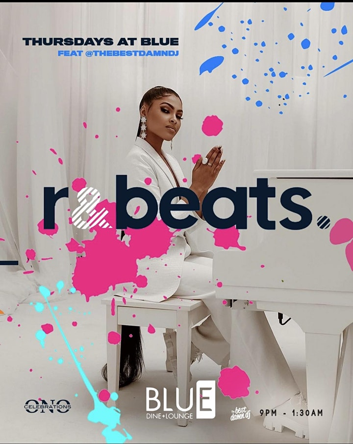 R&Beats (R&B + Afrobeats) @ Blue Lounge by Ono Celebrations image