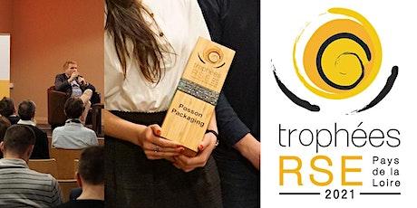 Soirée remise des Trophées RSE Pays de la Loire 2021 billets
