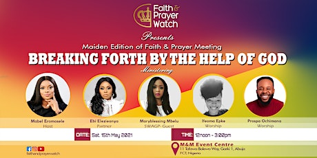 Maiden Edition of Faith and Prayer Meeting tickets
