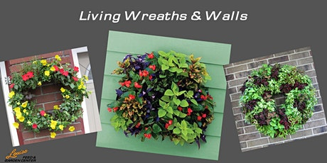 Summer Plant n' Sip: Living Wreaths & Living Walls tickets