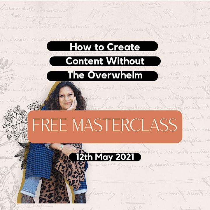 Free Content Creation Masterclass image