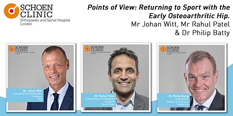 Points of View: Returning to Sport with the Early Osteoarthritic Hip biglietti