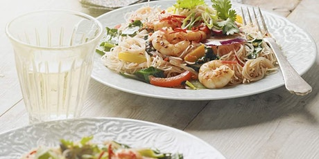 KNIFE SKILLS: STIR-FRIED PRAWNS WITH THAI BASIL COOKERY CLASS £24 tickets
