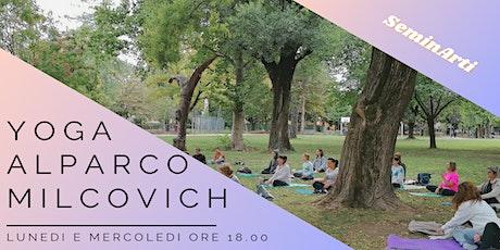 SeminArti: Yoga al Parco Milcovich biglietti