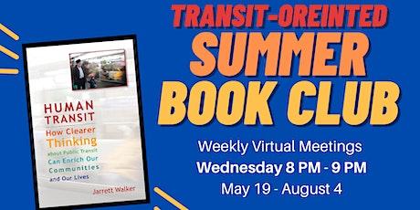 "Transit Oriented Book Club feat. ""Human Transit"" by Jarret Walker tickets"