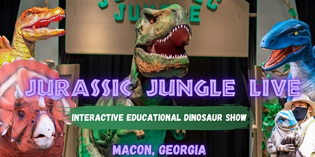 Macon Jurassic Jungle LIVE tickets