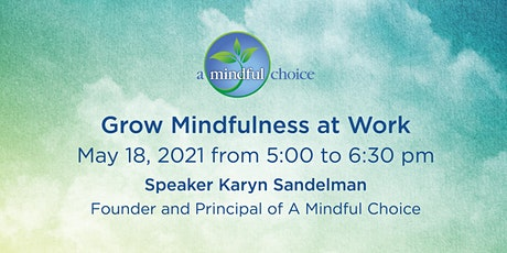 Introduction to Mindfulness: A critical foundation for well-being tickets