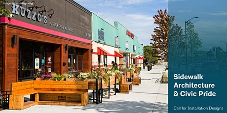 Sidewalk Architecture & Civic Pride: Call for Installation Designs biglietti