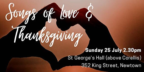 The Bourbaki Ensemble | Songs of Love & Thanksgiving tickets