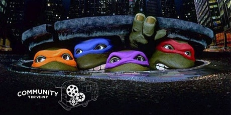 Teenage Mutant Ninja Turtles (1990) - Community Drive-In w/ Do512 Family tickets