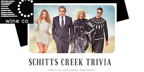 Schitt's Creek Trivia (FREE!) at KC Wine Co Vineyard and Winery in Olathe tickets