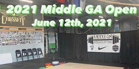 2021 Middle GA Open ( non- sanctioned entry) tickets