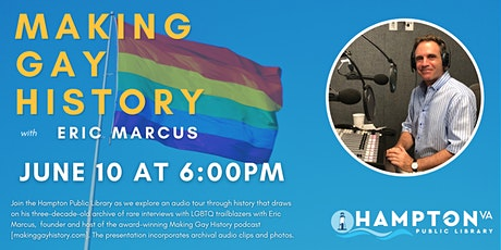 Making Gay History an Audio Tour through LGBT History with Eric Marcus tickets