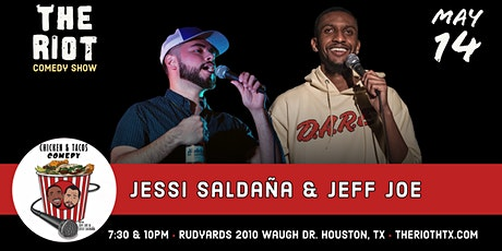 "The Riot Comedy Show presents ""Chicken & Tacos"" w/ Jeff Joe & Jessi Saldaña tickets"