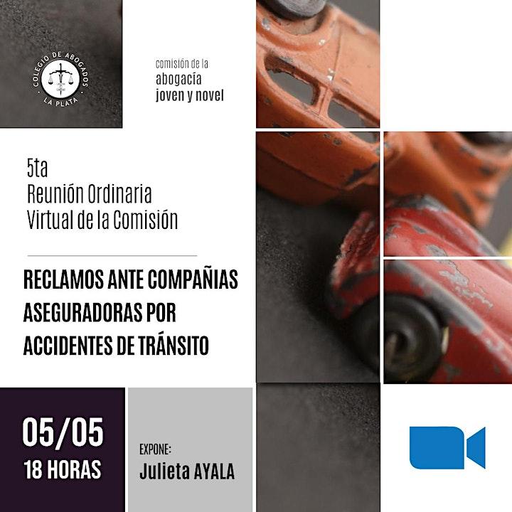 Imagen de 5ta.  Reunión Ordinaria Virtual de la Comisión de la Abogacía Novel y Joven