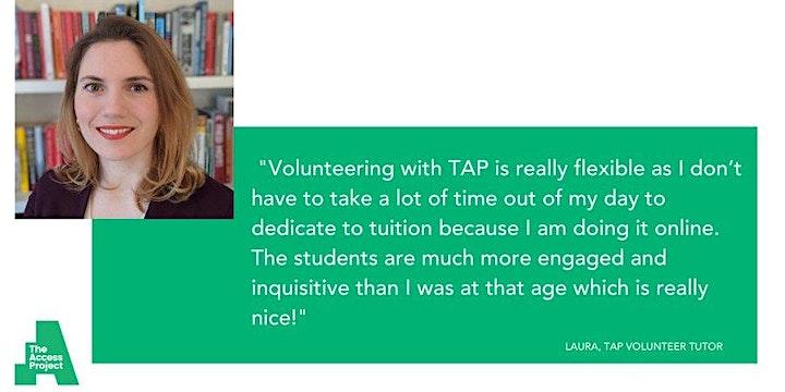 Online Volunteer Tutor Training, Saturday 25th September, 10:30 - 13:00 image