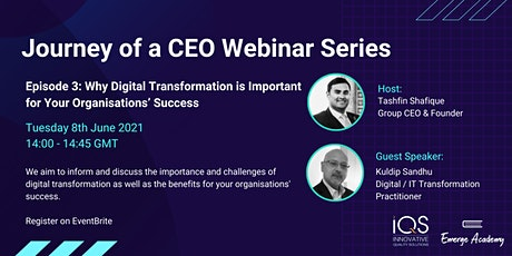 Why Digital Transformation is Important for Your Organisations' Success tickets