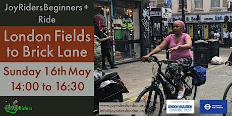 Beginners Plus Womens ride - London Fields to Brick Lane tickets