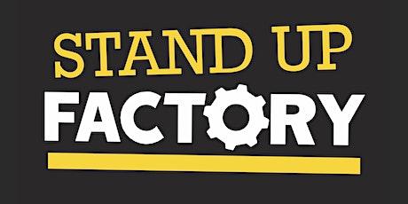 Stand-Up Factory - La reprise - 17H00 billets