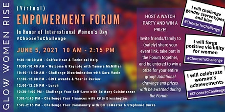 GLOW Women Rise 2nd Annual Empowerment Forum tickets