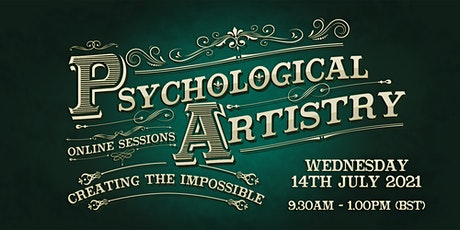 Psychological Artistry Online Session tickets
