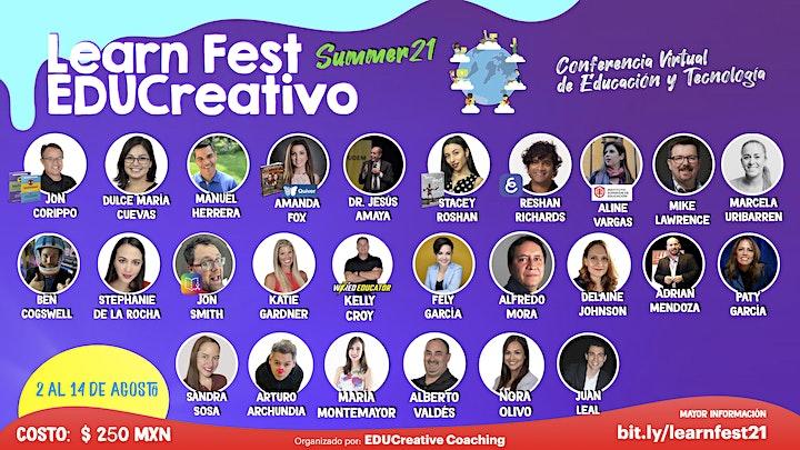 Imagen de Learn Fest EDUCreativo - Summer 21