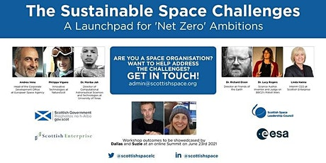 Sustainable Space Challenges - Challenge 3 workshop (space data library) tickets