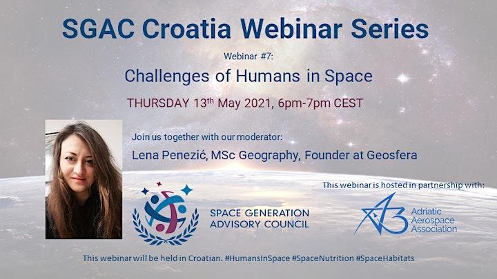 SGAC Croatia Webinar Series, Webinar #7 image