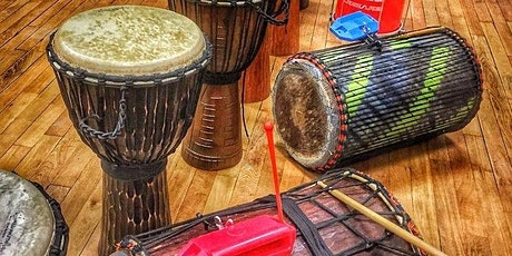 Drumming for Transformation Online session tickets